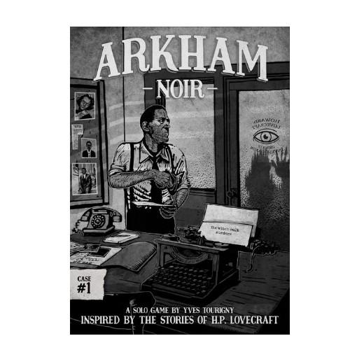 Arkham Noir los asesinatos del culto de la bruja es un juego de mesa en solitario. Investiga los sucesos basados en diversos relatos de H.P. Lovecraft. Un juego de mesa disponible para comprar en oferta en Lámpara Mágica Shop. Tu tienda especializada en juegos de mesa. Estamos en Sevilla.