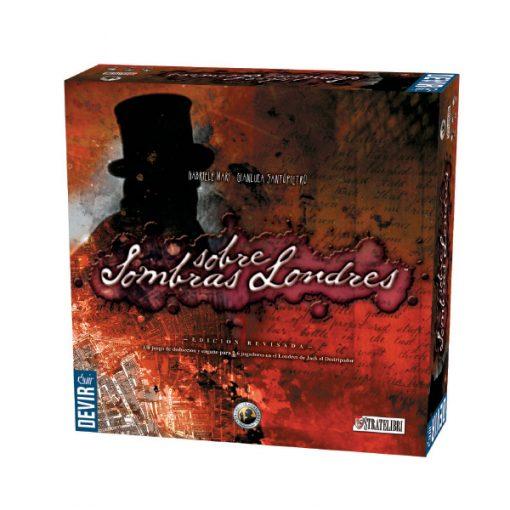 Sombras sobre Londres es un juego de suspense e investigación basado en los crímenes de Jack el Destripador. Disponible para comprar en oferta en Lámpara Mágica Shop. Tu tienda especializada en juegos de mesa. Estamos en Sevilla.