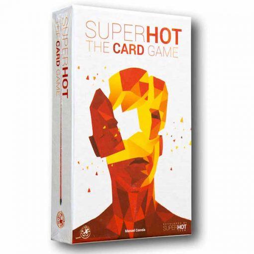 Superhot es un juego de cartas editado en inglés por Board & Dice. Tienes una misión que cumplir, y muchos enemigos que te disparan por todas partes. Enfréntate a ellos o interactúa con el escenario y los objetos que vas encontrando. Busca una salida, evita las balas y cumple tu misión. Un juego de mesa disponible en Lámpara Mágica Shop. Tu tienda especializada en juegos de mesa. Estamos en Sevilla.
