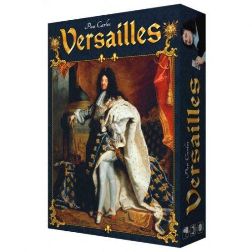 Versailles es un juego de cartas ambientado en la corte de Luis XIV, donde deberás competir por el favor de las figuras más influyentes de palacio. Disponible para comprar en oferta en Lámpara Mágica Shop. Tu tienda especializada en juegos de mesa. Estamos en Sevilla.
