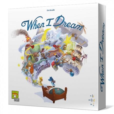 When I dream es un juego de mesa de comunicación para 4 a 10 jugadores. ¡Atrévete a soñar! Disponible para comprar en oferta en Lámpara Mágica Shop. Tu tienda especializada en juegos de mesa. Estamos en Sevilla.