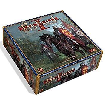 Richard the Lionheart es un juego de mesa para 2 a 6 jugadores ambientado en Inglaterra durante las cruzadas en Tierra Santa. Disponible para comprar en oferta en Lámpara Mágica Shop. Tu tienda online especializada en juegos de mesa.
