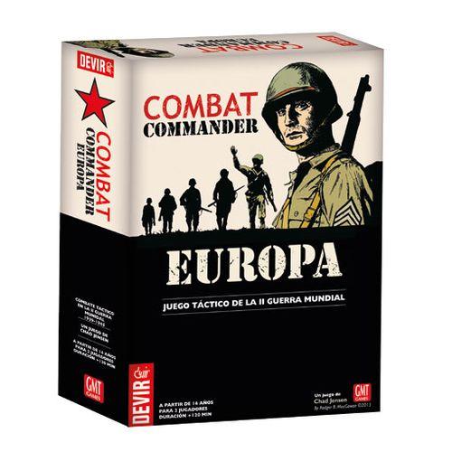 Combat Commander Europa es un juego de tablero que cubre combates de infantería en la Europa de la Segunda Guerra Mundial. Un juego de mesa disponible para comprar en oferta en Lámpara Mágica Shop. Tu tienda online especializada en juegos de mesa. Estamos en Sevilla.