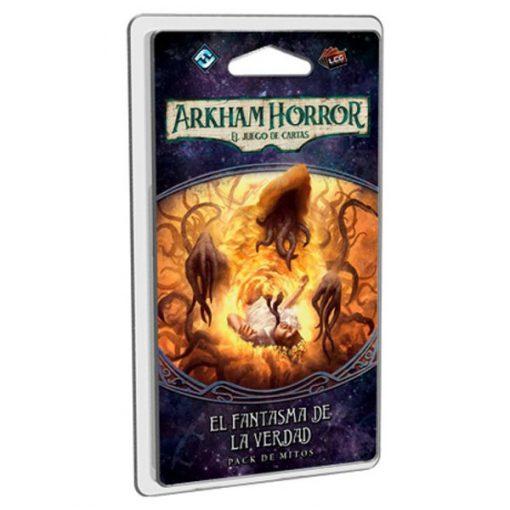 El fantasma de la verdad es el III pack de Mitos del ciclo el camino a Carcosa de Arkham Horror el juego de cartas (LCG). Disponible en Lámpara Mágica Shop, tu tienda especializada en juegos de mesa. Estamos en Sevilla.