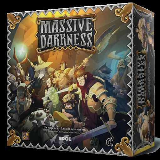 Massive Darkness es un juego de mesa de exploración de mazmorras en un universo de fantasía épica. Disponible para comprar en oferta en Lámpara Mágica Shop. Tu tienda online especializada en juegos de mesa. Estamos en Sevilla.