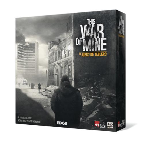 This War of Mine es un juego de tablero que nos situa en mitad de una interminable guerra. Tu único objetivo es la supervivencia. Un juego de mesa disponible para comprar en tu tienda especializada en juegos de mesa. Lámpara Mágica Shop. Estamos en Sevilla.