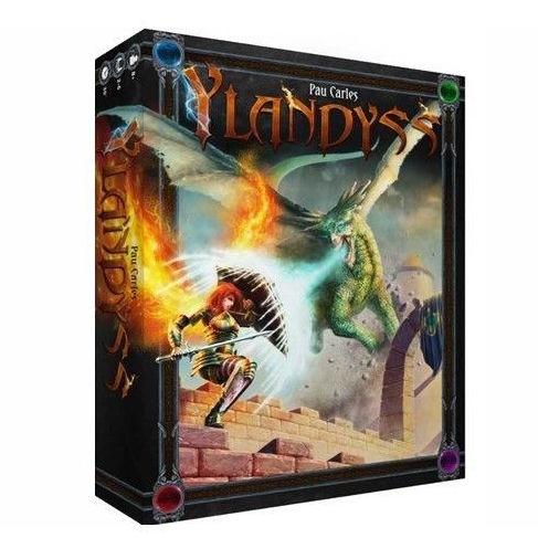 Ylanyss es un juego de mesa de construcción de mazos ambientado en un mundo de fantasía épica. Disponible para comprar en oferta en Lámpara Mágica Shop. Tu tienda online especializada en juegos de mesa. Estamos en Sevilla.