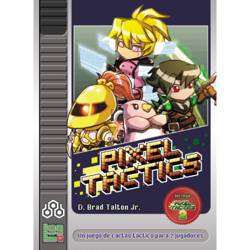 Pixel tactics es un juego de mesa para dos jugadores en el que competirán por eliminar al líder enemigo. Disponible para comprar en oferta en Lámpara Mágica Shop. Tu tienda online especializada en juegos de mesa. Estamos en Sevilla.