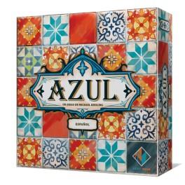 Azul es un juego de mesa abstracto, muy vistoso, de mecánica sencilla y con mucha estrategia para los amantes de este género. Disponible para comprar en Lámpara Mágica Shop. Tu tienda especializada en juegos de mesa. Estamos en Sevilla.