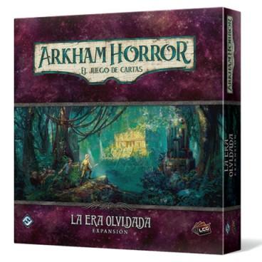 La era olvidada es la tercera campaña de Arkham Horror el juego de cartas LCG. Investiga las ruinas de una antigua ciudad azteca y los secretos ancestrales que oculta. Disponible para comprar en Lámpara Mágica Shop. Tu tienda especializada en juegos de mesa. Estamos en Sevilla.