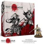 Test of honour es un juego de guerra de escaramuzas ambientado en el Japón Medieval. Edición en inglés de Warlord Games. Disponible para comprar en oferta en Lámpara Mágica Shop. Tu tienda especializada en juegos de mesa. Estamos en Sevilla.