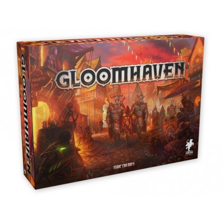 Gloomhaven es un juego de mesa cooperativo de aventuras y exploración de mazmorras . Número 1 de la BGG, disponible para comprar en oferta en Lámpara Mágica Shop, tu tienda especializada en juegos de mesa. Estamos en Sevilla.